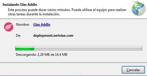 Captura de pantalla Instalando